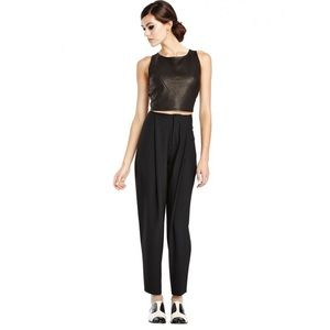 Alice + Olivia Cropped Clean Balloon Pant